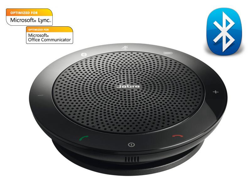 0aadf25aca3 Smart speakerJabra Speak 510 MS features an intelligent microphone and a  powerful speaker that enable 360-degree coverage meaning that everyone in  the room ...
